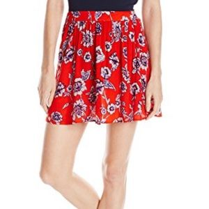 Billabong High Waisted PLAY AGAIN Floral Skirt S